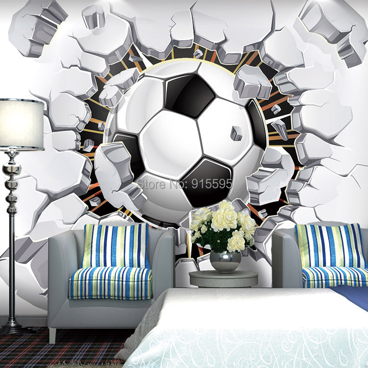 Wholesale 3d Soccer Wallpaper Sport Background Mural Living Room Sofa Bedroom Football Tv Backdrop Custom Any Size Wall Mural Wallpaper Best Hq Wallpapers Best Wallpapers From Sophine09 13 13 Dhgate Com