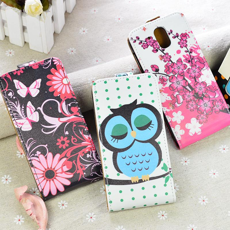 Printing Pattern High Quality PU Leather Case For HTC Desire 326G Desire 526 526G dual sim