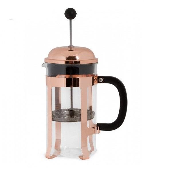 Розовато-золотистый цвет кофе французский пресс с держателем Pyrex стекло французский пресс кофеварка для кофе и чая 1 л