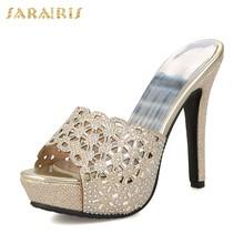 SARAIRIS/Большие размеры 33-43; Обувь для вечеринок на полой платформе наивысшего качества; Женские босоножки; Пикантные женские туфли-лодочки на ...(Китай)