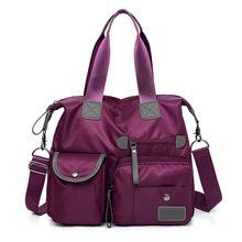 ALLKACI Многофункциональный Чемодан нейлоновая сумка Для женщин сообщение сумка Мода Большие Женский сумки Bolsas Для женщин Дорожная сумка-48(Китай)