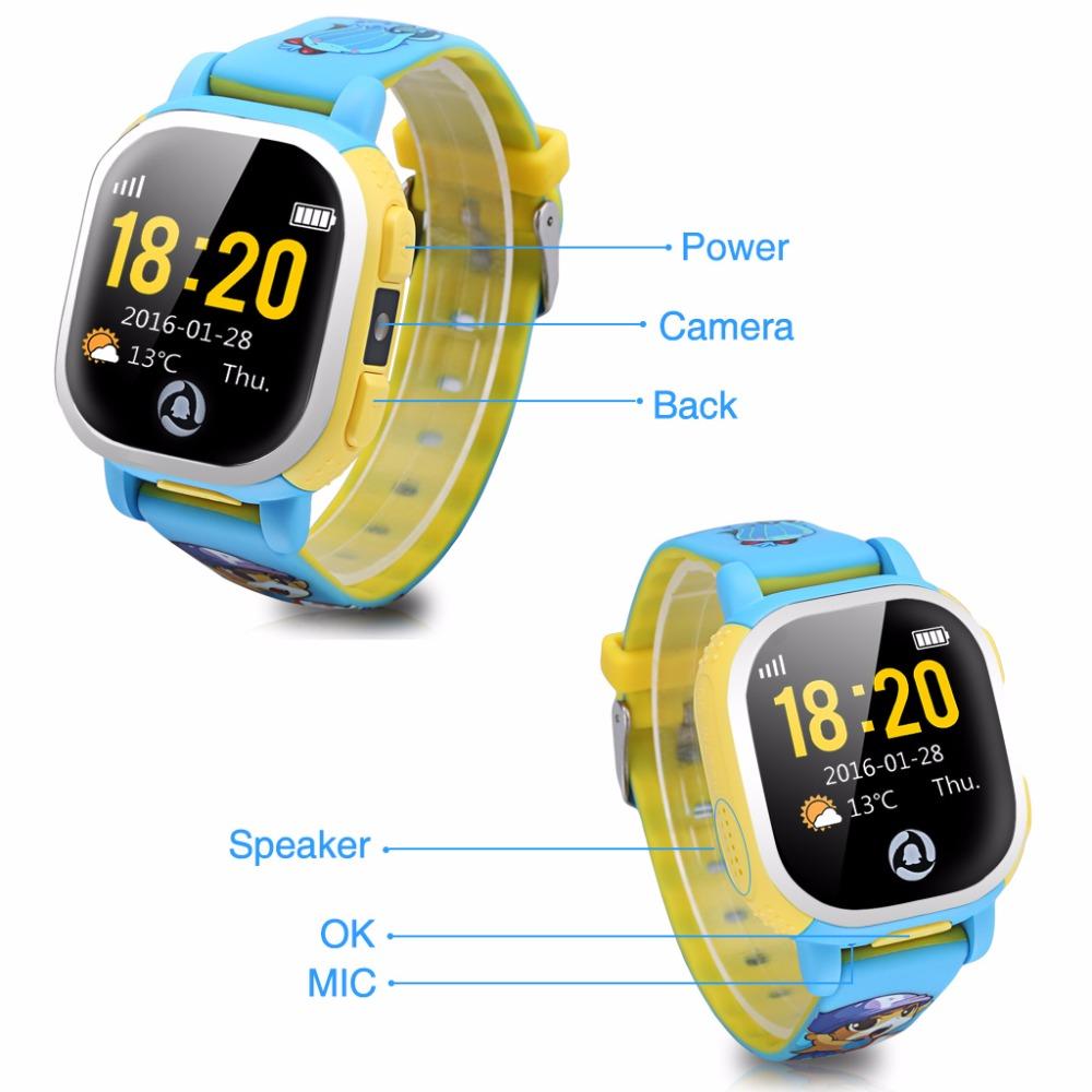 Cheap Tencent QQ Kids GPS Watch Wifi Smart Activity Tracker Watch