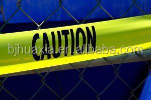 Предупреждающая лента без клея с подложкой из полиэтилена, с возможностью нанесения логотипа