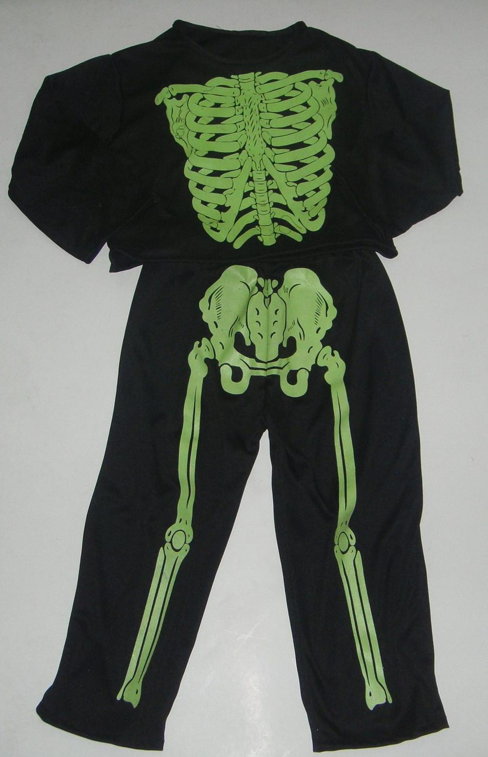 Unseix Adult Skeleton hallowen costumes Wholesale high quality Halloween costumes