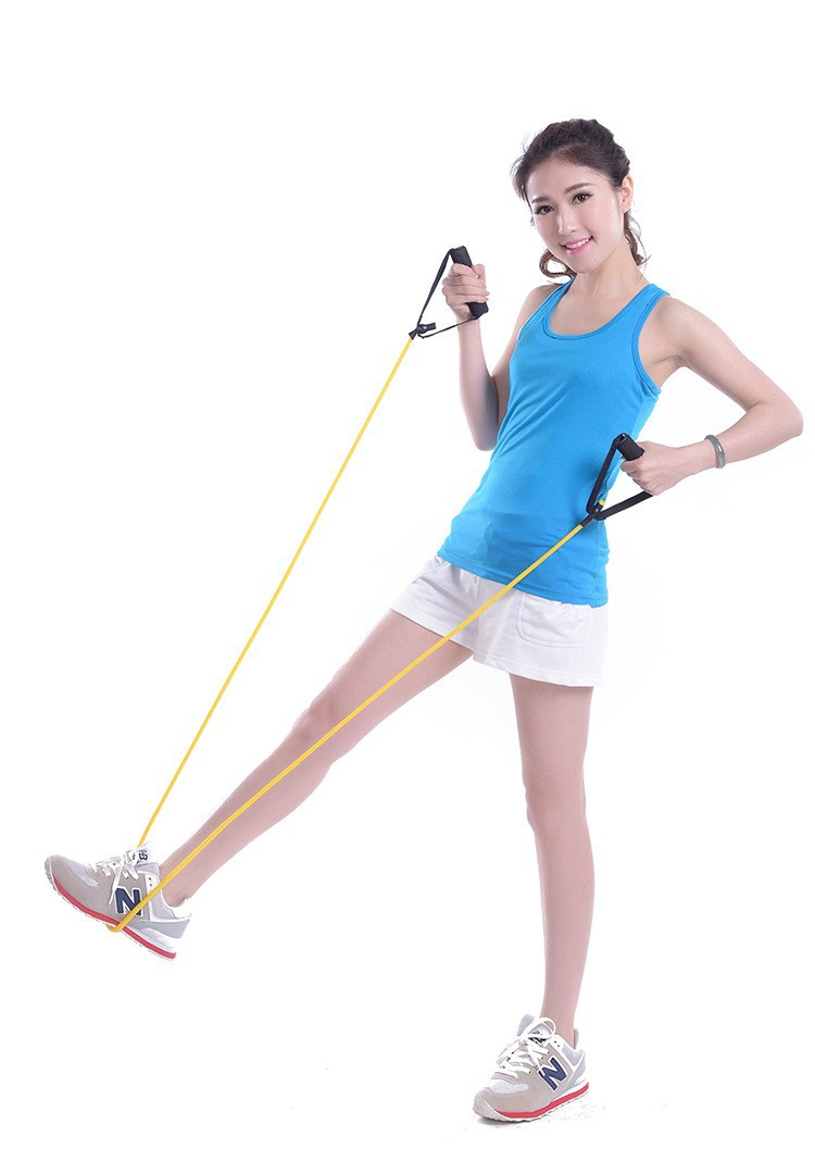 Fitness Gym Equipment Resistance Training Bands Tube