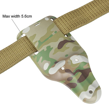 Belt Holster Multicam camouflage molle durable leg drop military pistol holster HK7-0074