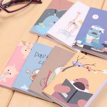 8x6 см 20 страниц/лист корейский прекрасный мультфильм тетрадь с изображением Винтаж Ретро Книга-блокнот для детей Канцтовары(Китай)