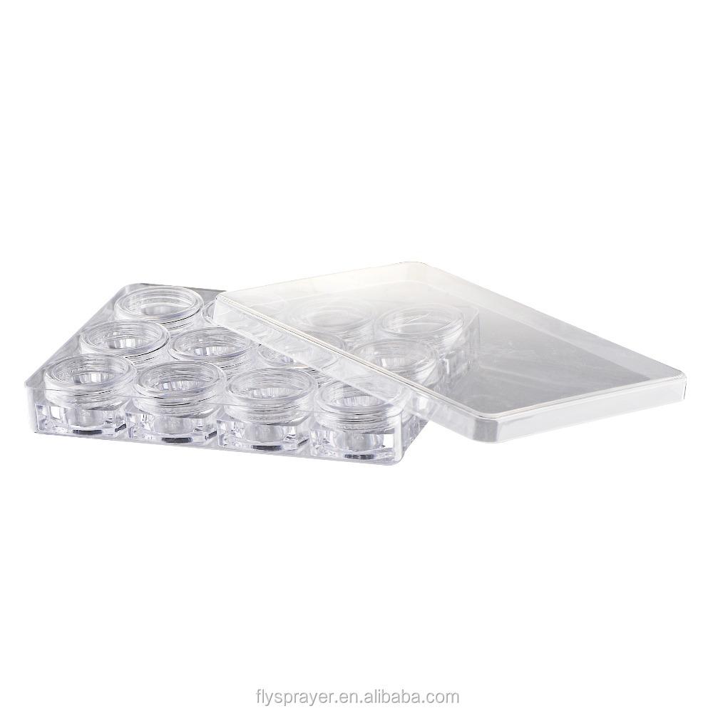 Лучшая цена, Пластиковый пустой контейнер для лосьона для тела 10 мл * 4, косметическая банка