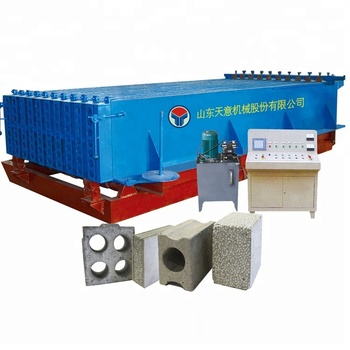 Precast Concrete Hollow Core Wall Panel Machine Cement Plastering Machine For Wall Gypsum Board Production Line