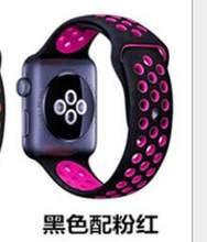 Браслет из нержавеющей стали, 42 мм, 38 мм, ремешок на запястье, двухцветный силикон для mk iphone, ролевые мужские и женские часы Apple iwatch 1 2 3(China)