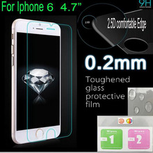 for iphone6s screen protector for iphone 6 tempered glass for Apple iphone 6 Plus Glass 0.3mm For iPhone 6S case capa