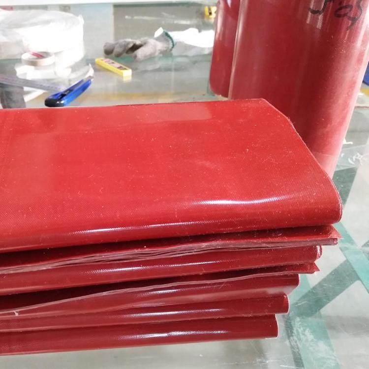Стекловолоконная ткань с силиконовым резиновым покрытием/лист/ткань