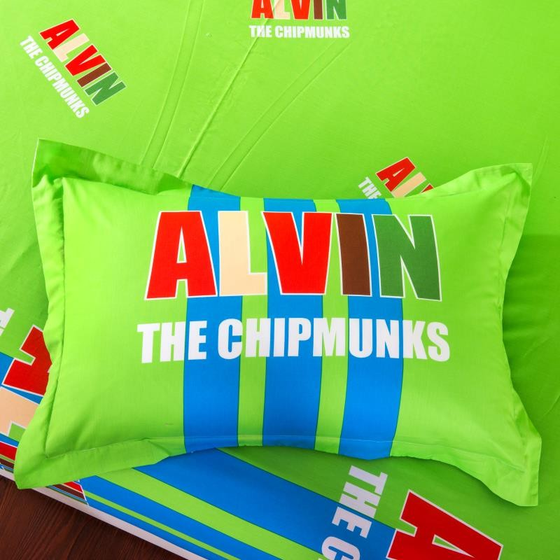 Wholesale Blue Green Alvin And The Chipmunks Bedding Set