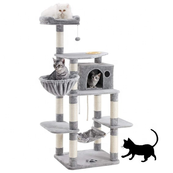 High Quality New Design Indoor Cat Tree House Scratcher Tower Wholesale Pet Product For Kitten Buy Wholesale Pet Supplier Tops Pet Products Hot Sale Cat Toy Product On Alibaba Com