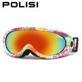 POLISI Men Women Anti Fog Skiing Eyewear Winter Outdoor Sports Snowmobile Snowboard Skate Ski Goggles UV400