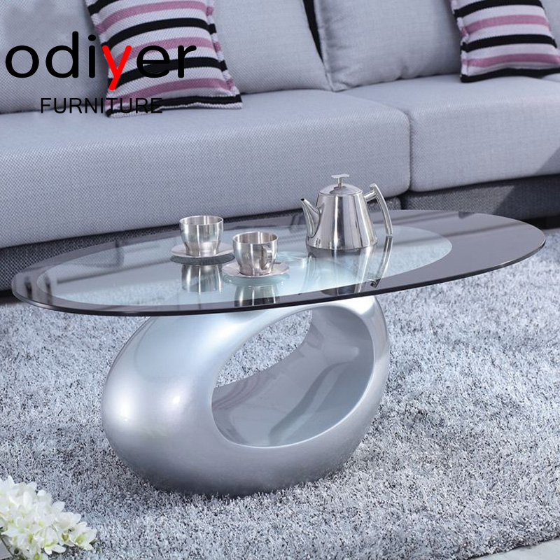 This Item Fab Glass And Mirror Stylish Coffee Table Oval White Buy Modern Coffee Table Coffee Table Purple Glass Coffee Table Glass Replacement Product On Alibaba Com