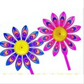 free shipping 50pcs lot Fashion Sunflower Colorful Windmill Children s Toy Home Garden Yard Decor Outdoor