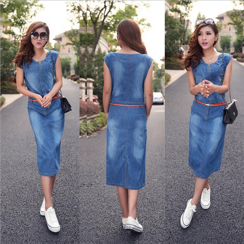 New Fashion Denim Vintage Cute Dress High Street Active ... - photo#24