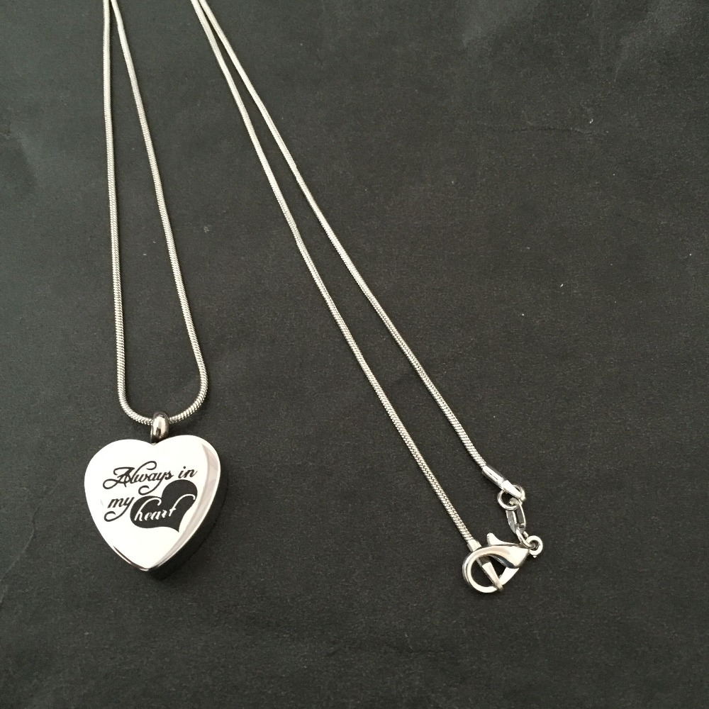 Necklaces for ashes from cremation