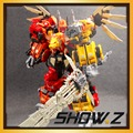 Show Z Store G1 Transformation Jinbao MMC Predaking Feral Rex 60cm Action Figure Toy No