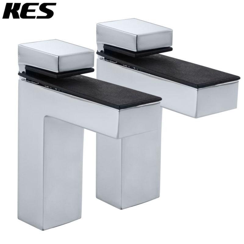 kes hsb301b p2 solide metall einstellbare holz glas regal halterung wandhalterung 2 st cke oder. Black Bedroom Furniture Sets. Home Design Ideas