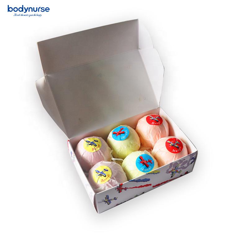 Оптовая продажа, подарочные наборы для ванны и тела, оригинальные игрушечные Бомбочки для ванны, подарочный набор для детей