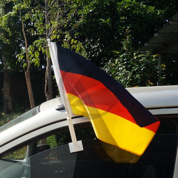 Индивидуальный дизайн экологичные евро автомобиля флаги