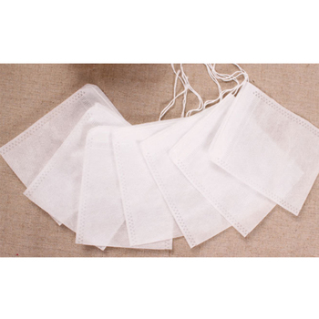Popular non-woven fabric wrapping tea bag disposable tea filter bag 5*7cm