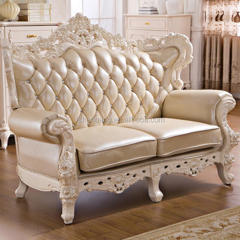 2015 new model luxury modern elegant leather fabric wooden victorian