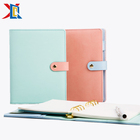 Agendas And Planners 6 Ring Binder A5 PU Leather Cover Weekly Organizer Planner Agenda With Calendar