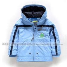 Children s clothing spring and autumn baby outerwear windproof baby boy child cardigan long sleeve trench