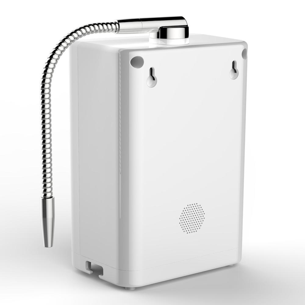 Private 7 plates kangen water machine alkaline hydrogen water ionizer korea with touch control and english voice
