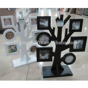 wood family tree photo frame, family picture frame, famous picture frame
