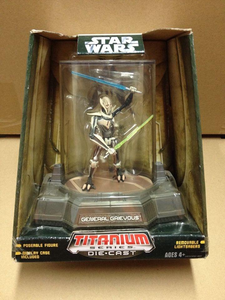 Star Wars Titanium Series Die Cast Gen Grievous New in Package