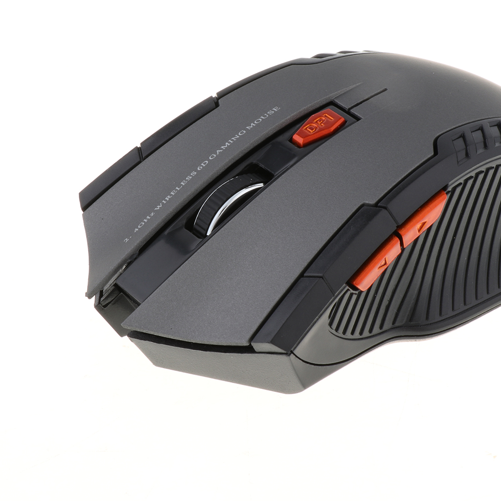 2.4GHz USB Wireless Mouse for Laptop Computer Optical Mice Scrolling Wheel Mini Multiple Operating System Adjustable