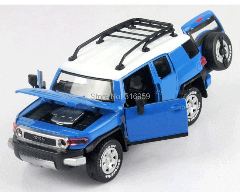 Compre Al Por Mayor Nuevo Toyota Fj Cruiser Jeep Escala Modelo De