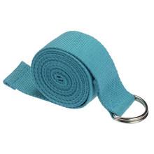 Пилатес пояс для йоги Slackline растягивающийся ремешок Коврик для йоги тренировочные инструменты Flex Bar Pull Up Assist Аксессуары для йоги(China)