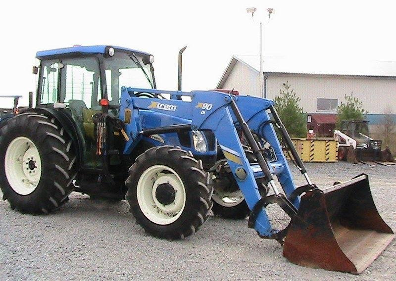 Ts-95 User Manual New Holland Tractor