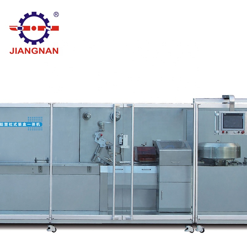 DPSW-360 автоматическая высокоскоростная блистерная упаковка/Сумка для подушек/машина для картонного бокса все-в-одном, производственная линия для упаковки лекарств