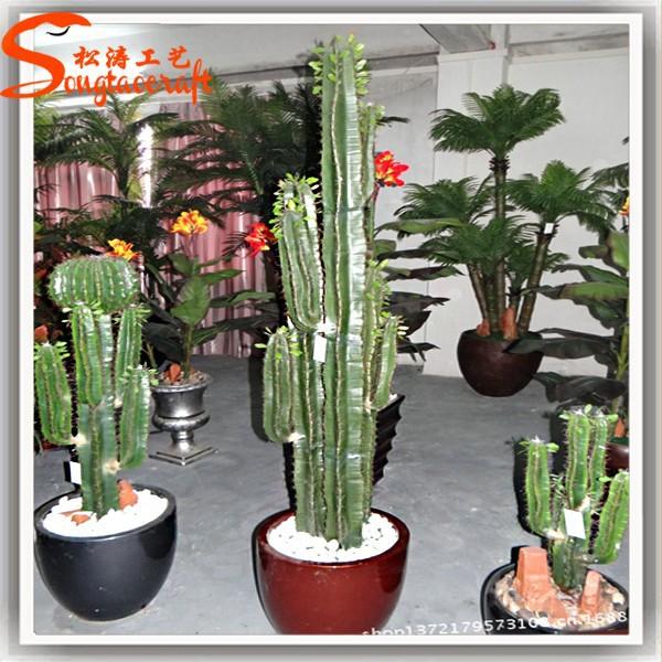 jardin paysage d coration plantes artificielles cactus plantes arbre en plastique gros cactus. Black Bedroom Furniture Sets. Home Design Ideas