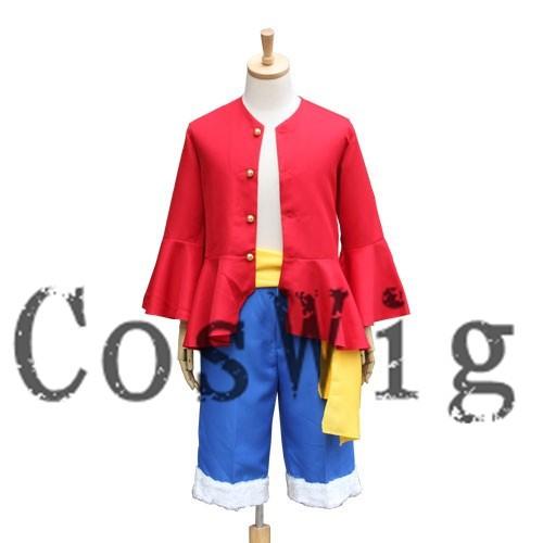 Цельнокроеный костюм Луффи 2 года позже, аниме, костюм для косплея, Униформа, костюм на Хэллоуин