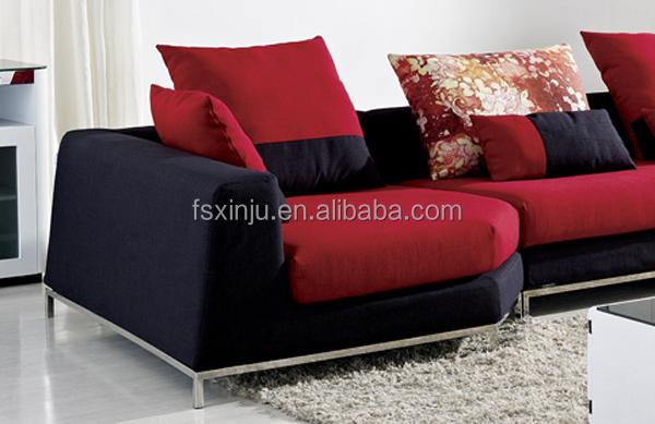 designer de meubles moderne canap color nouvelle arriv e de luxe en cuir mixte et tissu de. Black Bedroom Furniture Sets. Home Design Ideas