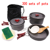 300 sets of pots