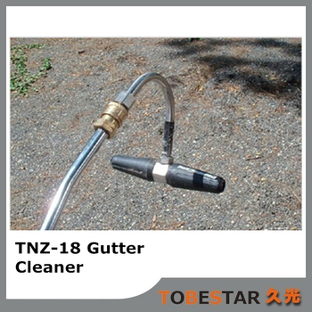 Hot Selling Quick Connect High Quality Two High Pressure Nozzles 3300PSI Roof Cleaning Gutter Cleaner Attachment