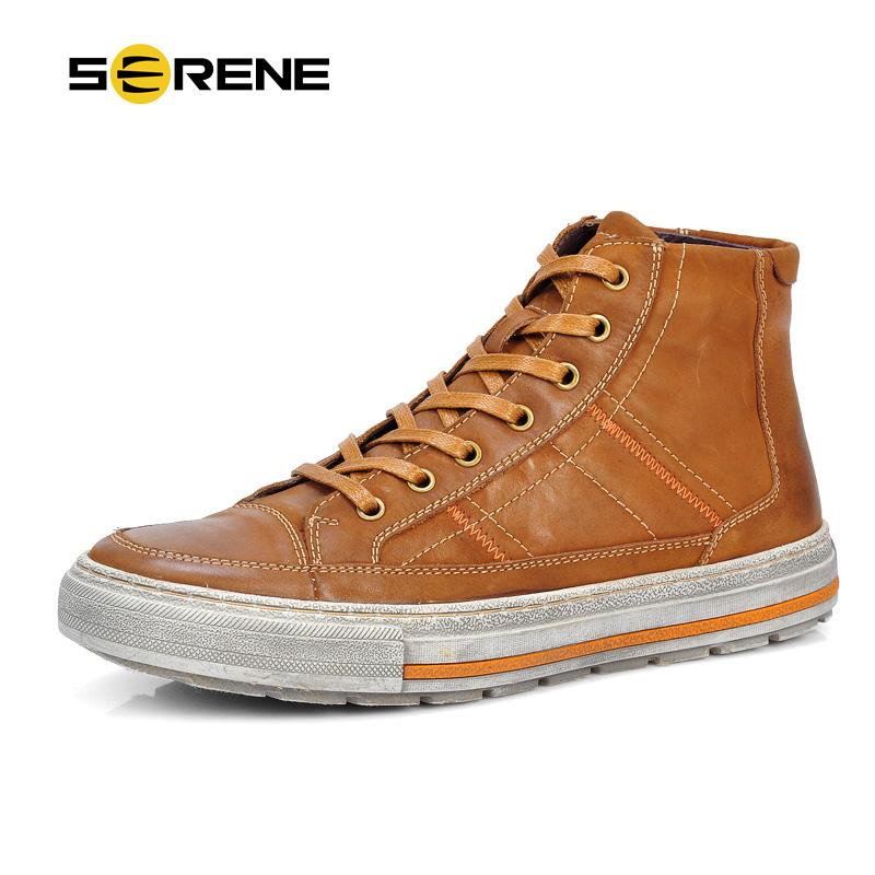 Vintage Design Men S Casual Leather Shoes