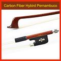 4 4 Size Carbon Fiber Hybird Pernambuco Wood Cello Bow WARM and SWEET TONE Neat Wormanship