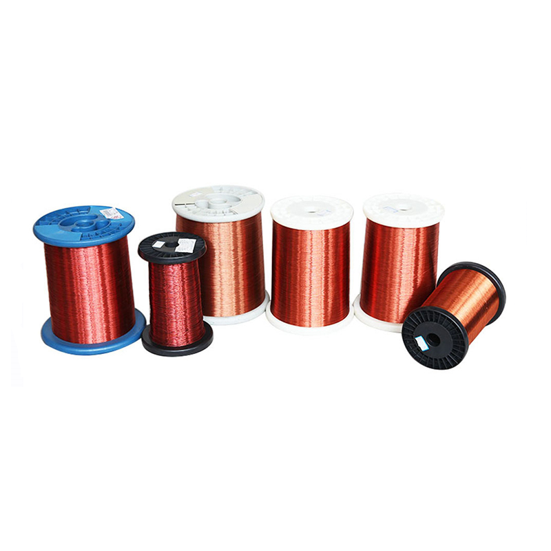 Silver magnet wire enameled copper clad aluminum wire
