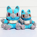 2 Size 14cm 17cm Lucario Plush Toy Dolls Lucario Plush Cute Soft Stuffed Animal Doll For