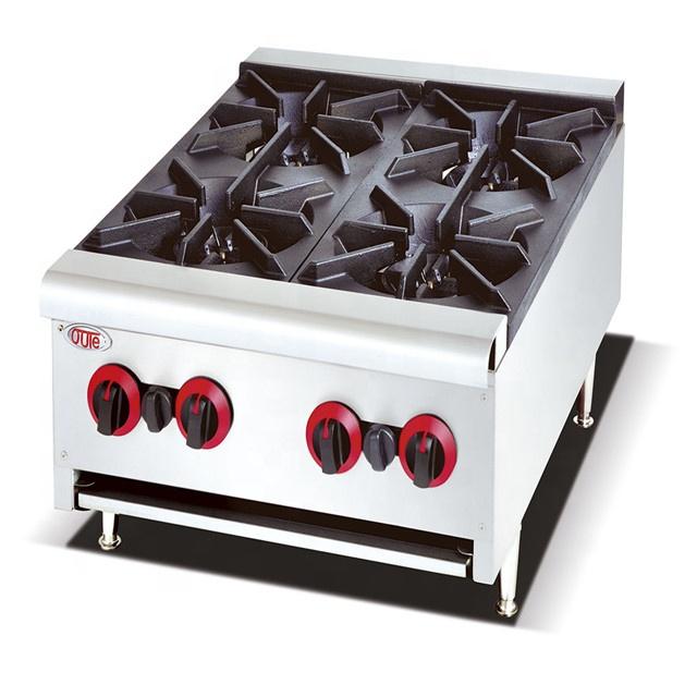 China Commercial Kitchen Equipment 4,6,8 Burner T Gas Cooker range heater supplier