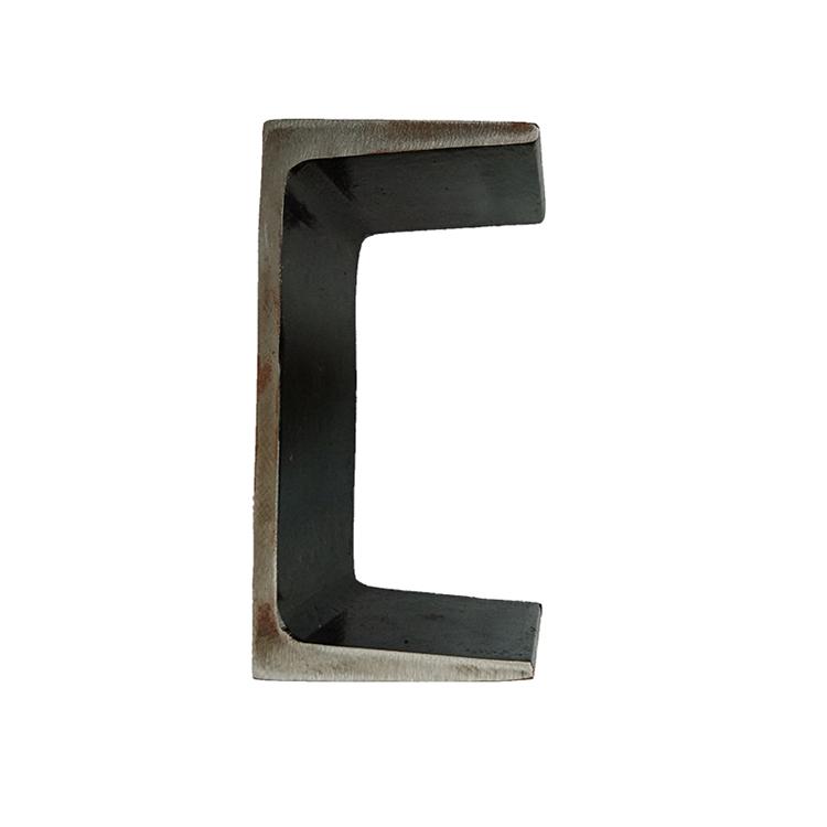 c6x8.2 steel channel bar/u shape channel/iron aluminium carbon c channel steel sizes mm